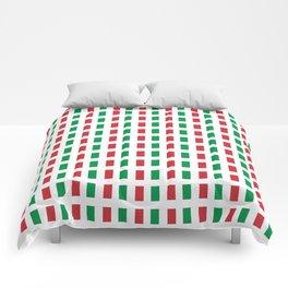 flag of Italia- Italy,Italia,Italian,Latine,Roma,venezia,venice,mediterreanean,Genoa,firenze Comforters