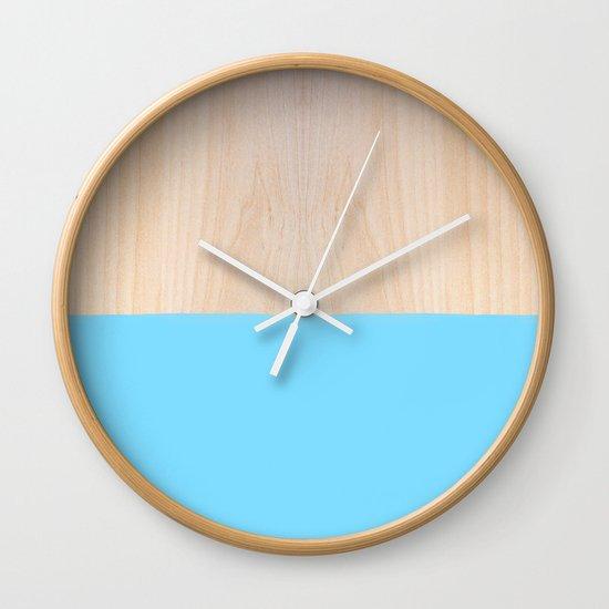Sorbet I Wall Clock