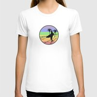 surfing T-shirts featuring surfing by Paul Simms