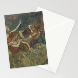 Four Dancers Stationery Cards