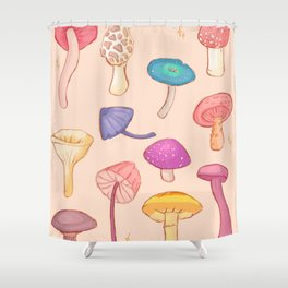 MUSH Shower Curtain