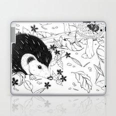 Woodland critters (uncoloured) Laptop & iPad Skin