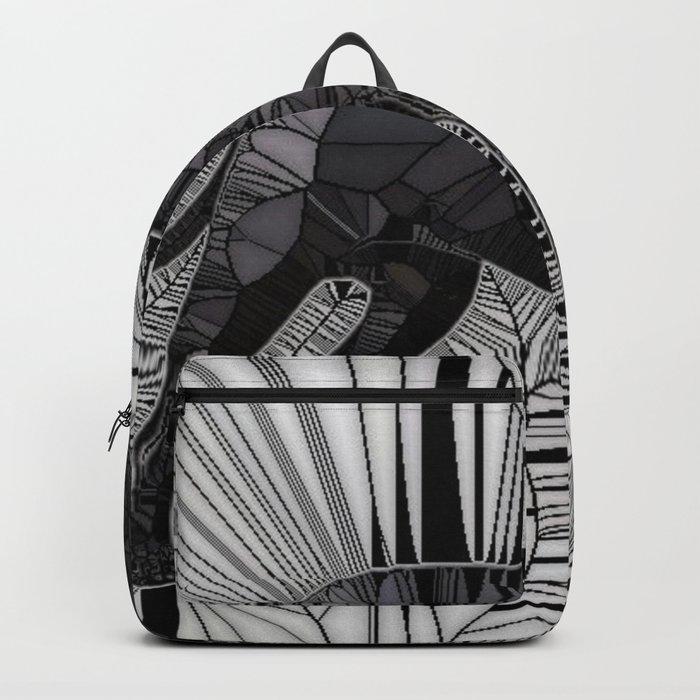 Staffordshire Bull Terrier Mosaic Backpack