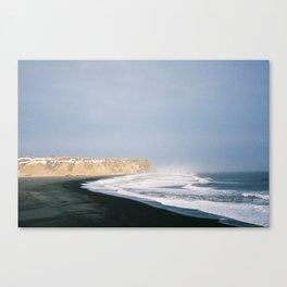 Seascape Iceland Canvas Print