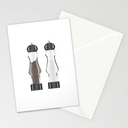 Glass Salt And Pepper Stationery Cards