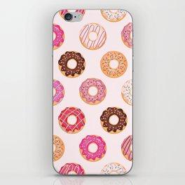 Pink Doughnuts iPhone Skin