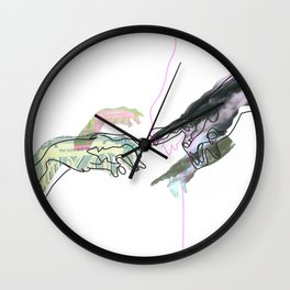 The Creation of Man Wall Clock
