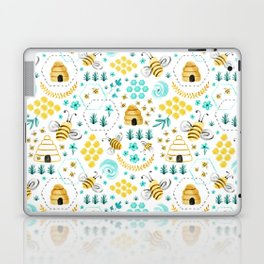 Busy Bees Laptop & iPad Skin