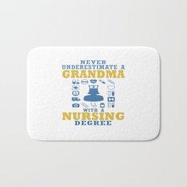Nursing Grandma Bath Mat