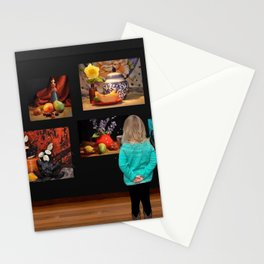 Art Observation by Great Granddaughter Stationery Cards