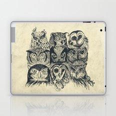 Nine Owls Laptop & iPad Skin