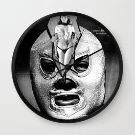 El Santo: The Fist of Death (El Puño de la Muerte), 1982 Wall Clock
