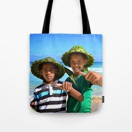 Macao Beach's Guys Tote Bag