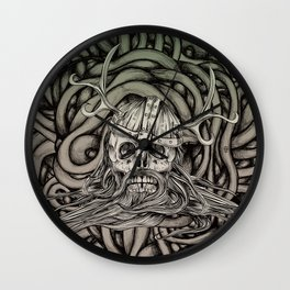 Old Viking Wall Clock