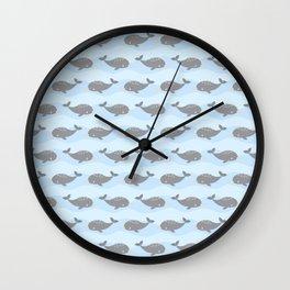 Cute narwhals Wall Clock