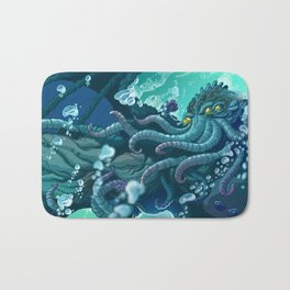 The Dreamer Awakes Bath Mat