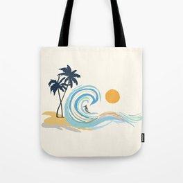 Minimalistic Summer II Tote Bag