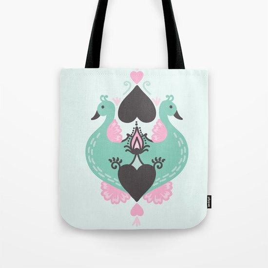 Pretty Peacocks Tote Bag