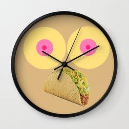 Feminist Taco Wall Clock