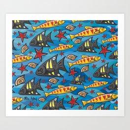 Bondi Blue Art Print