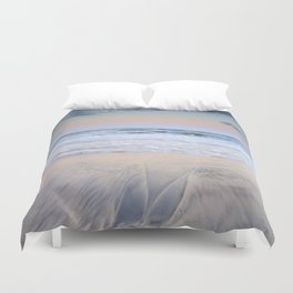 Pink waves ..... Duvet Cover