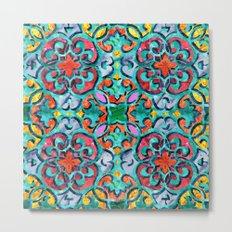Moroccan Mandala 01 Metal Print