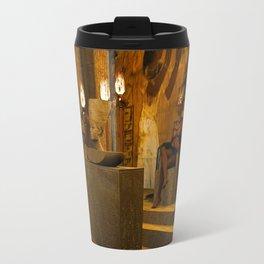 The creation of Queen Nefertiti's bust Travel Mug
