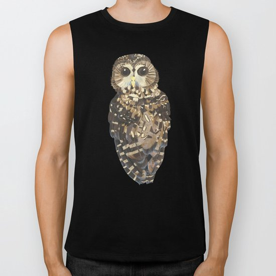 Northern Spotted Owl. Biker Tank