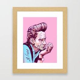 Jonny Cash Framed Art Print