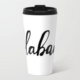 Alabama (AL; Ala.) Travel Mug