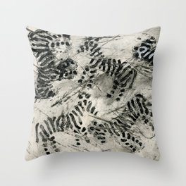 Striped Payamas Throw Pillow