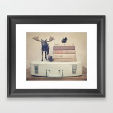 We Took To The Woods Framed Art Print