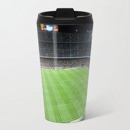 Camp Nou Crowded Travel Mug