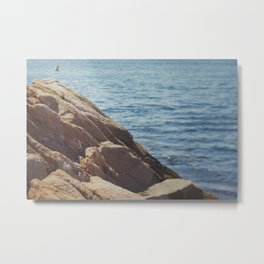 Over the Cliff Metal Print