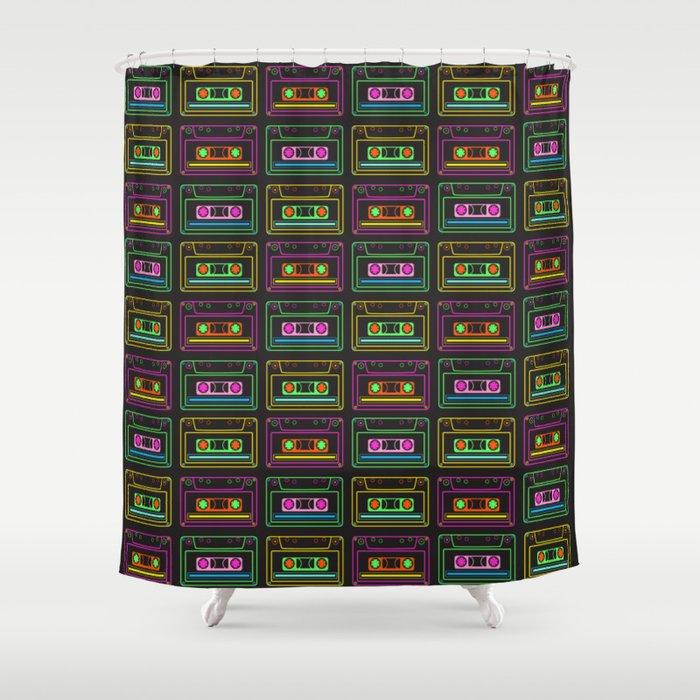 Neon Mix Volume 1 Shower Curtain
