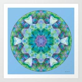 Mandalas of Healing and Awakening 10 Art Print