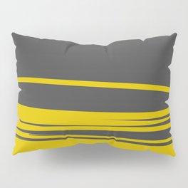 Grey and Yellow Minimalist Pillow Sham