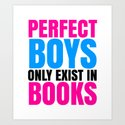 PERFECT BOYS ONLY EXIST IN BOOKS by creativeangel