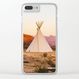 Tipi / Texas Clear iPhone Case