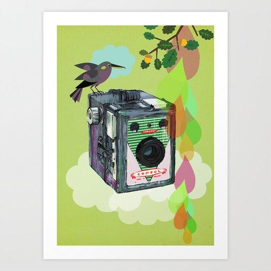 Vintage Camera Coronet Consul Art Print