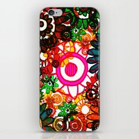 hippy iPhone & iPod Skins featuring Hippy Shake! by Charlotte Douthwaite