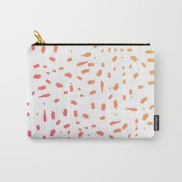 Gradient Spots Carry-All Pouch
