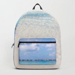 Tropical Beach Paradise Backpack