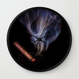 A Stogie Wall Clock