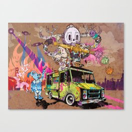 Pusher Carcophagus Canvas Print