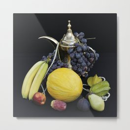 FRESH FRUITS - Stillife Metal Print