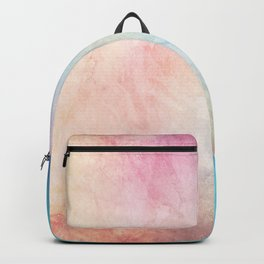 Fire and Ice - Watercolor Painting Backpack