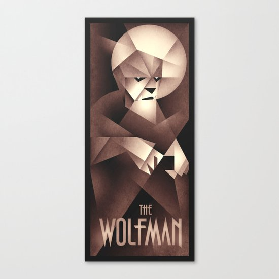 The Wolfman Canvas Print