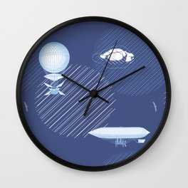 Airships Wall Clock