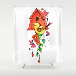 Dulce Hogar Shower Curtain